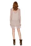 Dusty Pink Silk Dress