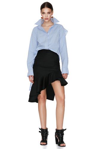 Gingham Cotton Shirt - PNK Casual