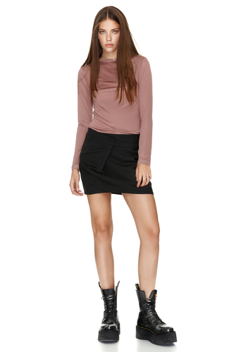 Jersey Dusty Pink Top - PNK Casual
