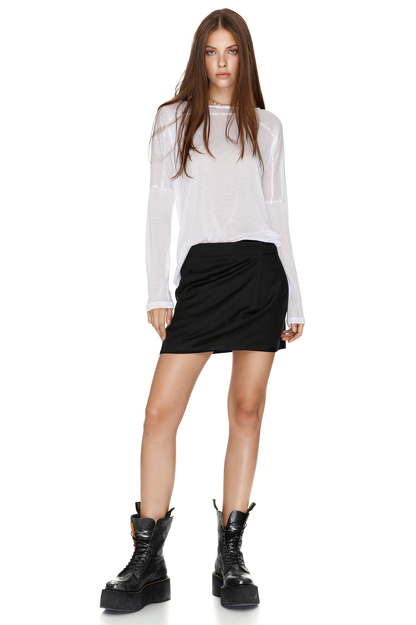 Jersey White Blouse