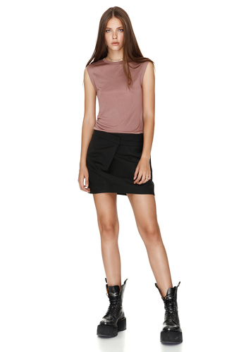 Jersey Micro-modal Dusty Pink Tank - PNK Casual