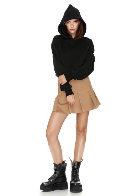 Black Hooded Sweatshirt