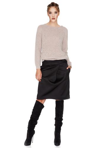 Beige Dots Sweater - PNK Casual