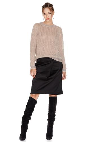 Crewneck Lurex Sweater - PNK Casual