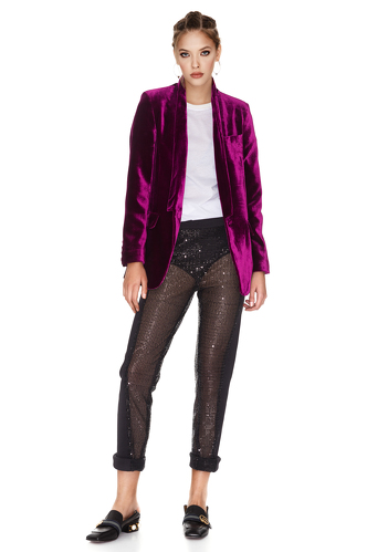 Black Sequins Pants - PNK Casual