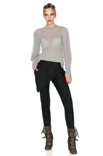 Grey Wool Sweater - PNK Casual