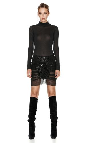 Black Turtleneck Sweater - PNK Casual