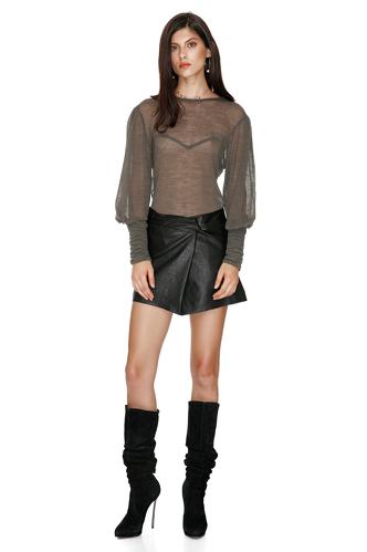 Kaki Wool Sweater - PNK Casual