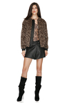 Leopard-print Jacket