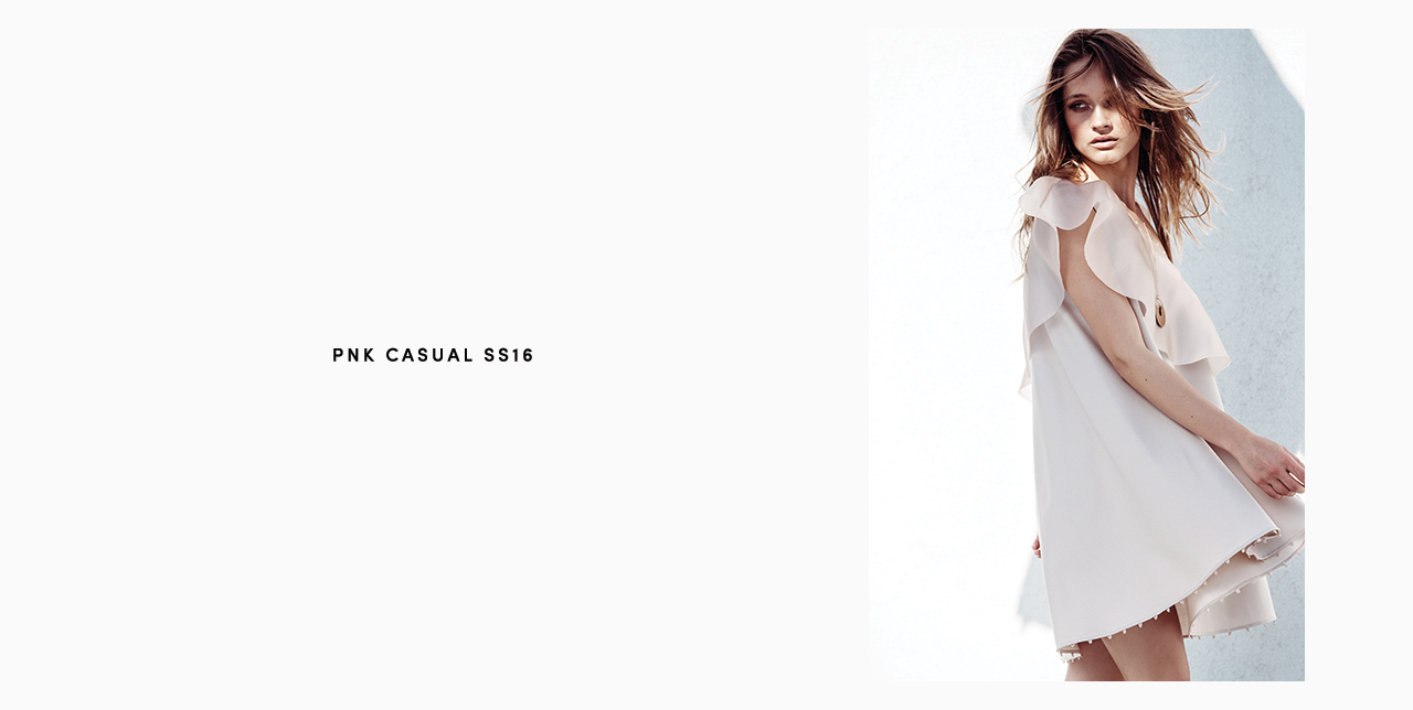 PNK casual Spring/Summer 2016 Collection - Limited Edition - 11