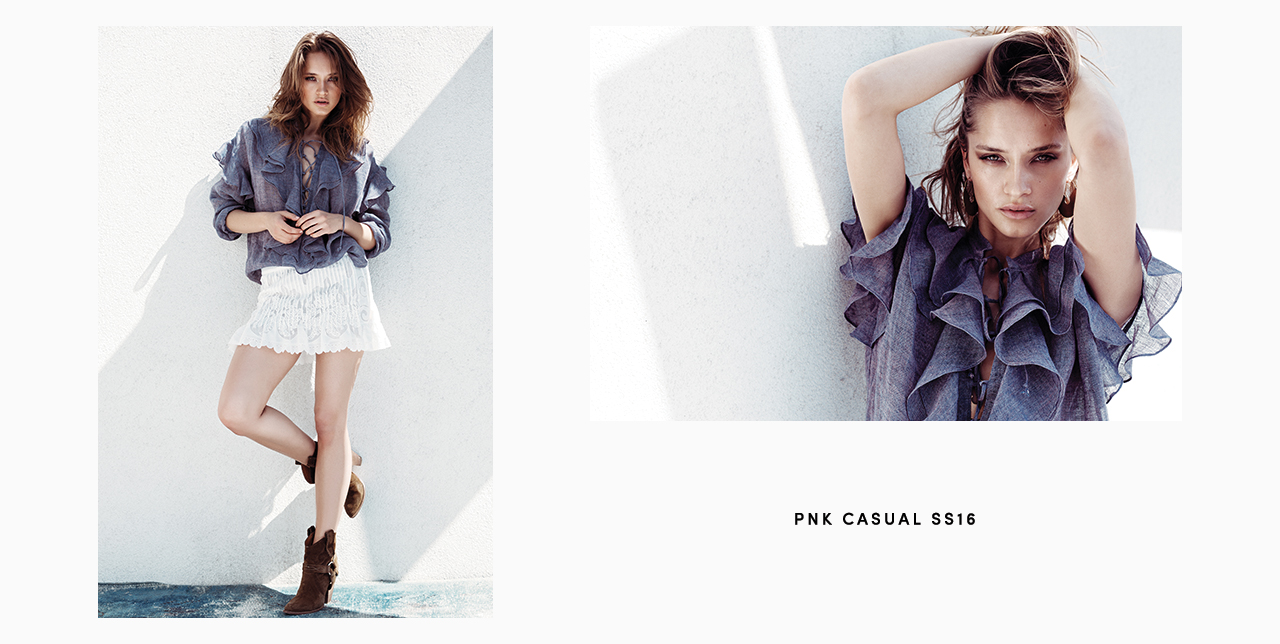 PNK casual Spring/Summer 2016 Collection - Limited Edition - 2