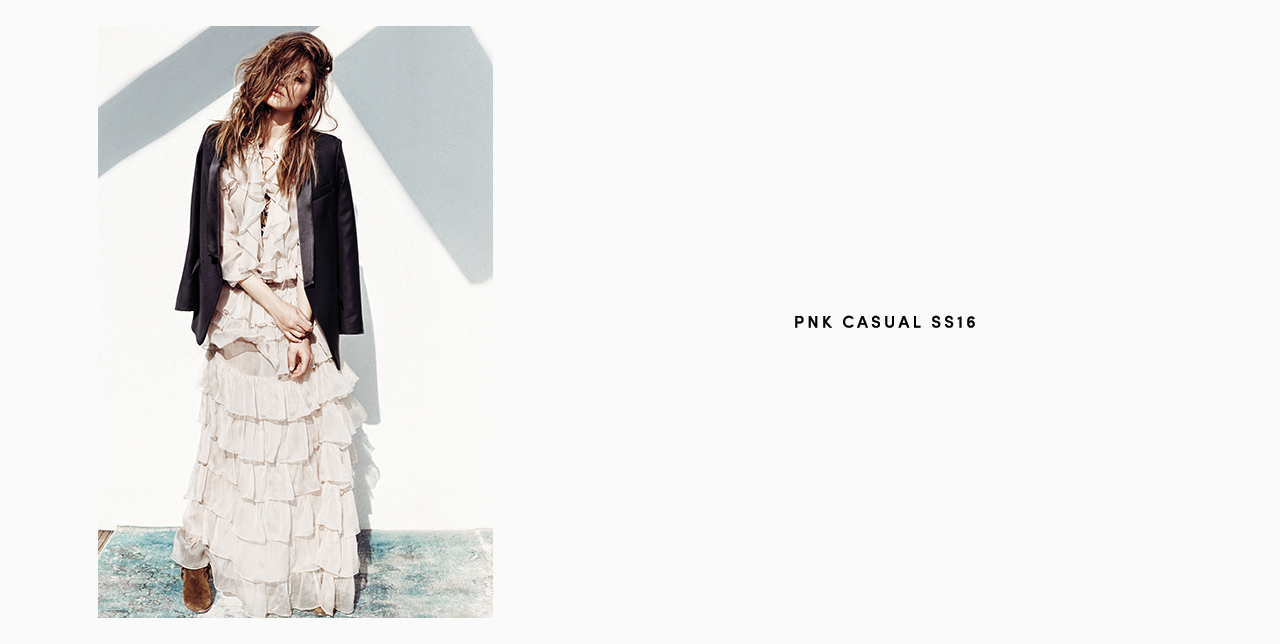 PNK casual Spring/Summer 2016 Collection - Limited Edition - 29